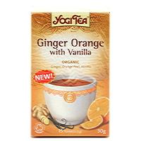 Yogi, Ginger Orange with Vanilla. Organic!