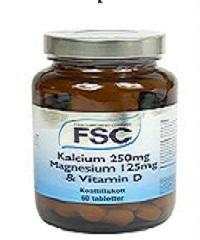 Kalcium magnesium och d vitamin